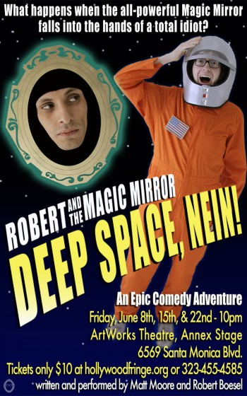 Robert and the Magic Mirror: Deep Space, NEIN!